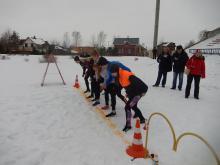 Бег по снегу 2017 Рыбинск